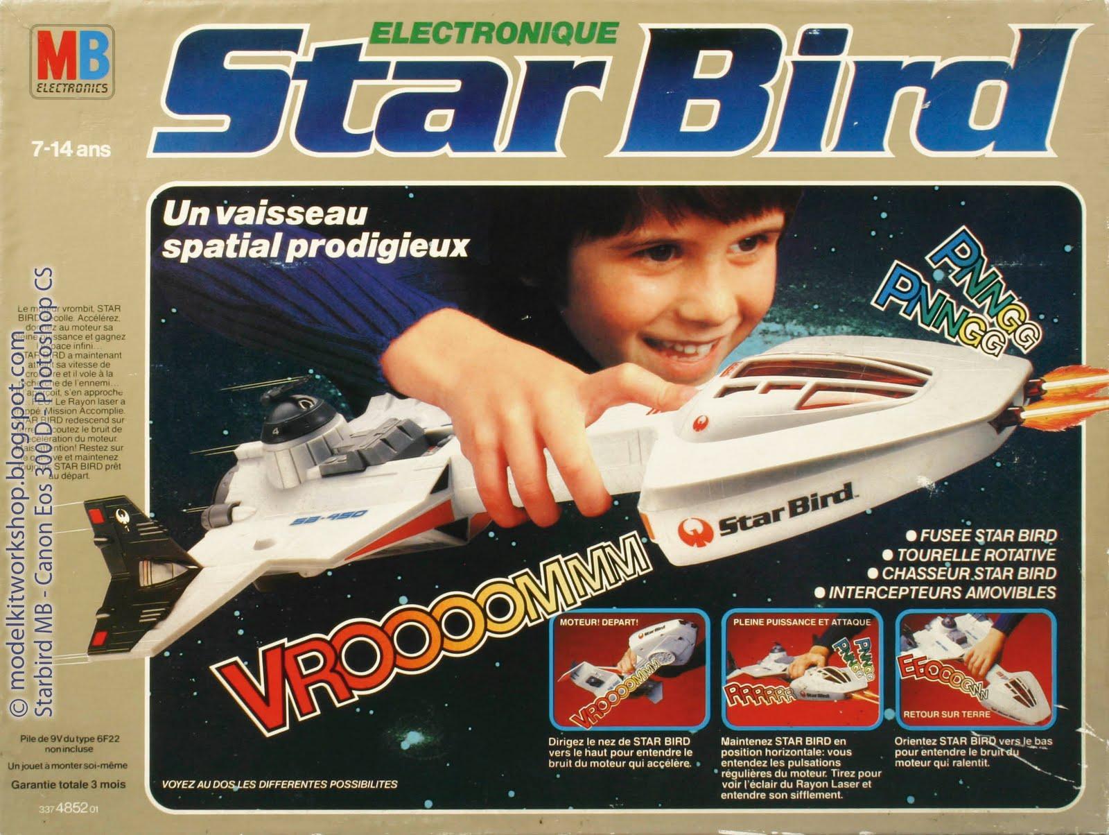 Les jouets de notre enfance. - Page 2 Starbird-Spaceship-MB-Buck-Star-Wars-05
