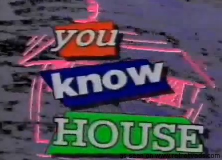 Test retro tv ads for 80s house music hits